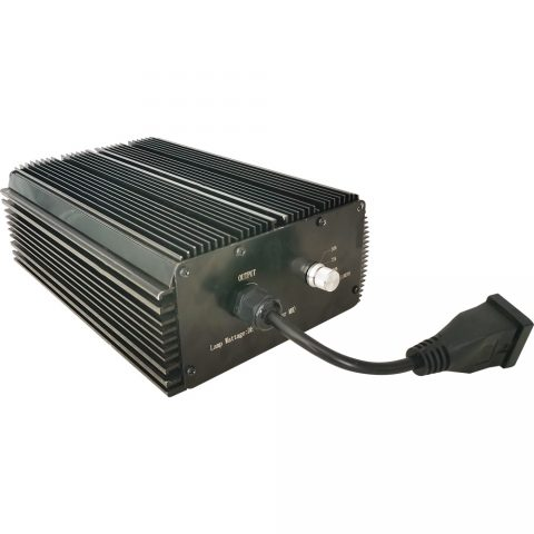 1000 Watt 120/208/240Vac Horticulture Digital Dimmable Electronic Ballast for Hydroponics HPS MH Grow Light 1000W Black 2