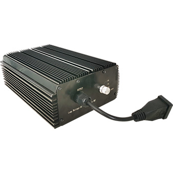 1000 Watt 120/208/240Vac Horticulture Digital Dimmable Electronic Ballast for Hydroponics HPS MH Grow Light 1000W Black