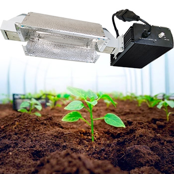 1000W Watt Double Ended HPS High Pressure Sodium Indoor Lighting system for greenhouse tent hydroponic horticultural Plants 120-Volt Grow Light
