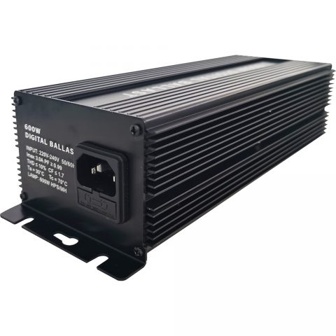 600 Watt 220V Horticulture Digital Dimmable Electronic Ballast for Hydroponics HPS MH Grow Light 6